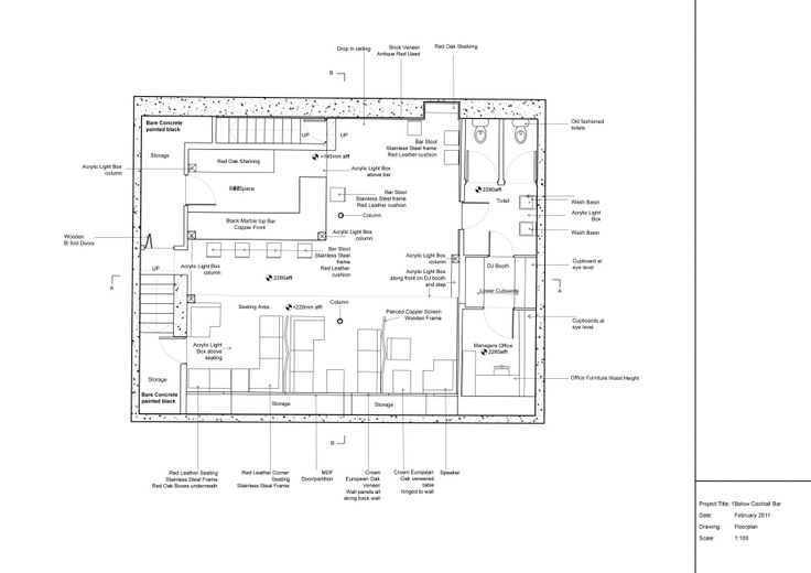 Cocktail Bar Floor Plan - Google Search
