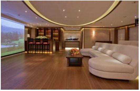 inside steven spielberg 39 s yacht the seven seas steven. Black Bedroom Furniture Sets. Home Design Ideas
