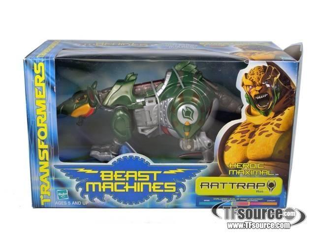 Beast Machines - Mega - Rattrap - MIB - by Hasbro #transformer