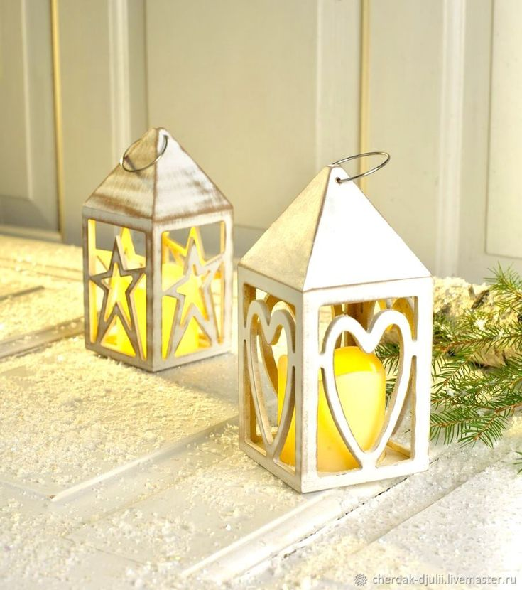 Buy Lantern lamp decorative LED tree on Livemaster online shop