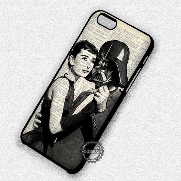 Dance Audrey Hepburn Darth Vader Starwars - iPhone 7 6 5 SE Cases & Covers