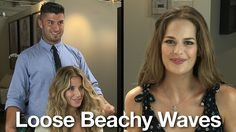 Get beach inspired loose sexy waves like Demi Moore or Megan Fox from the celebrity hairstylist who has worked with them: Andy LeCompte.  He'll go through the simple steps to teach you how to create this look at home.  Check out our video to learn
