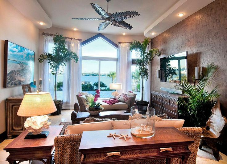 Good 25 Classic Tropical Living Room Designs