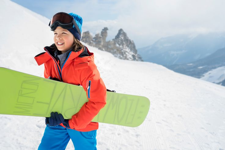 Enjoy the winter sports in Reima clothes. With ReimaGO you can monitor your kids' activity and motivate them to move more.
