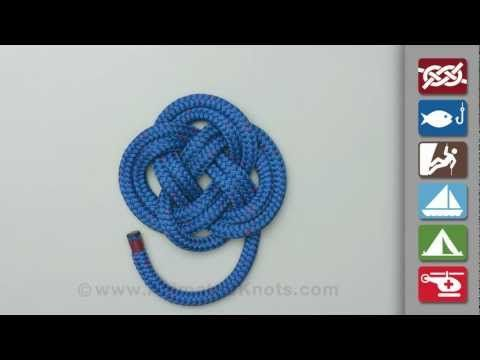 Carrick bend knot how to tie a carrick bend youtube for Rope designs and more
