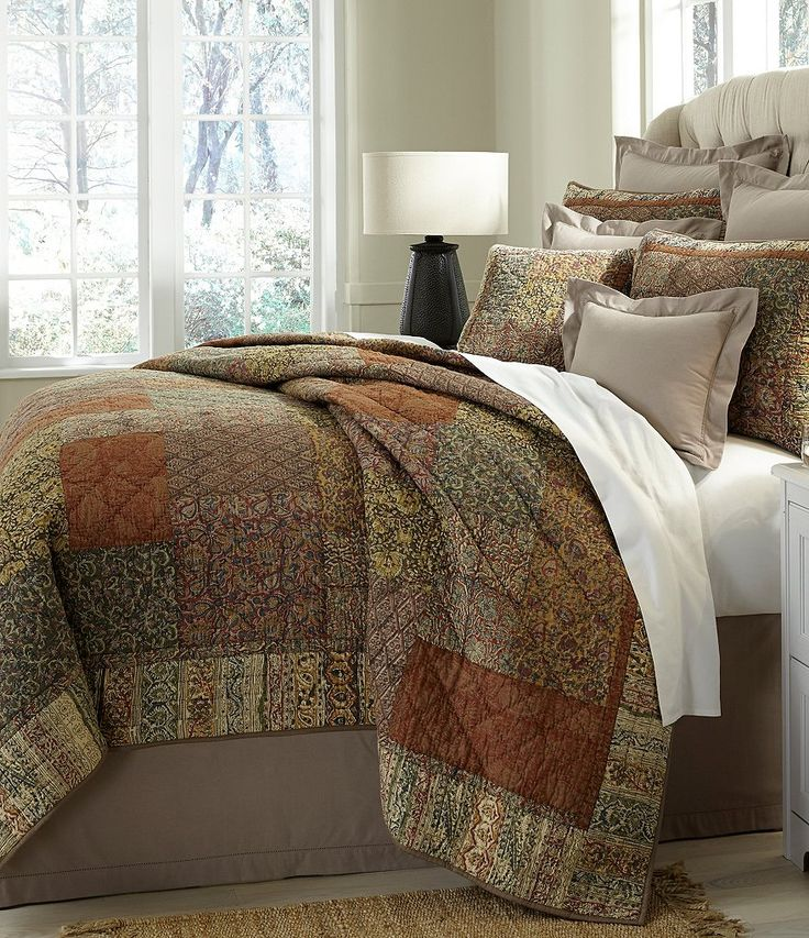 Attractive Villa By Noble Excellence Trevino Patchwork Voile Quilt Mini Set