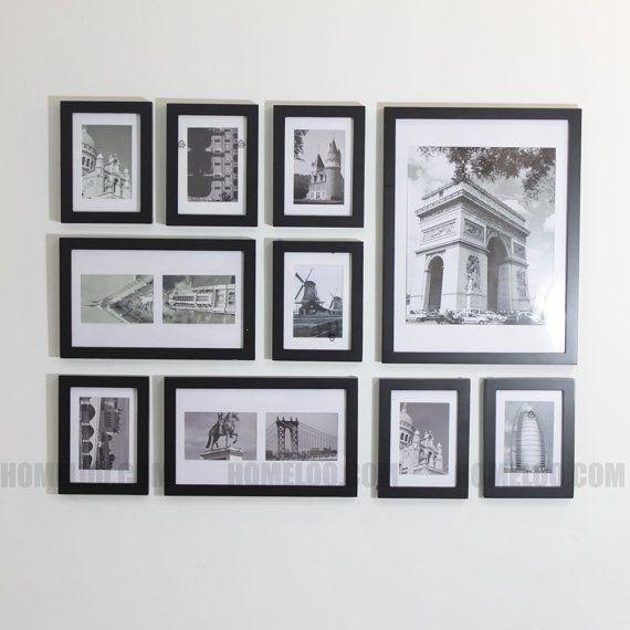 Photo Photo Frame Set  10 moderne par HOMELOO sur Etsy