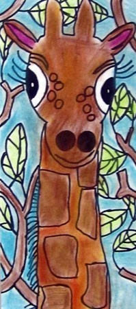 lots of happy giraffes: Drawings Animal For Kids, Animal Artworks For Kids, Jungles Art Projects For Kids, Crafts Ideas, Art Museum, Art Ideas, Kids Art, Water Colors Art For Kids, Happy Giraffes