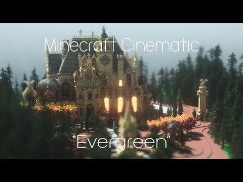 """Evergreen"" Villa+ Cinematic Minecraft Project"