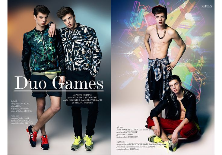 Twin Brothers Dominik & Rafael Starmach for Reflex Homme image Duo Games 001