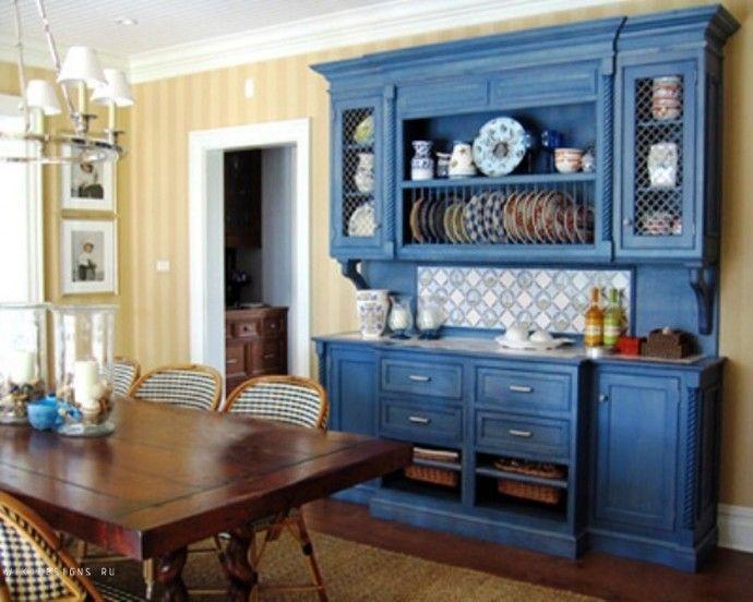 Кухонный буфет удобно и красиво.   Colors.life