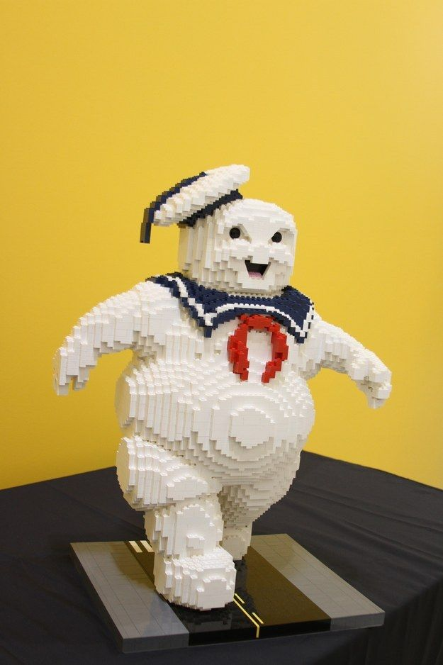 """The Stay Puft Marshmallow Man From """"Ghostbusters"""""""