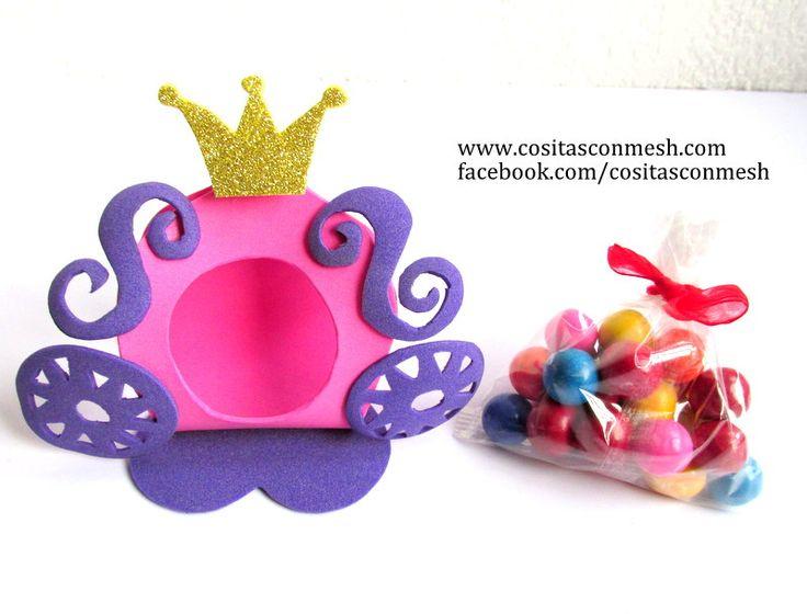 Aprende cómo hacer hermosos dulceros y centros de mesa princesa Sofía | Manualidades