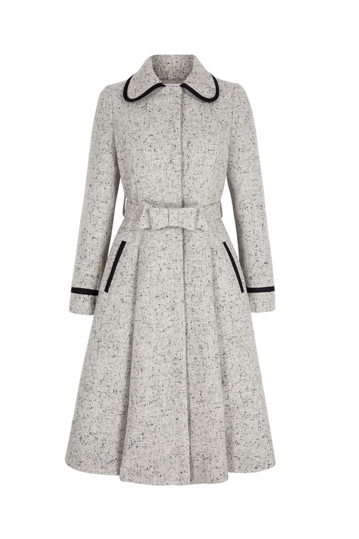 Honest coat tweed front (click to view larger image)