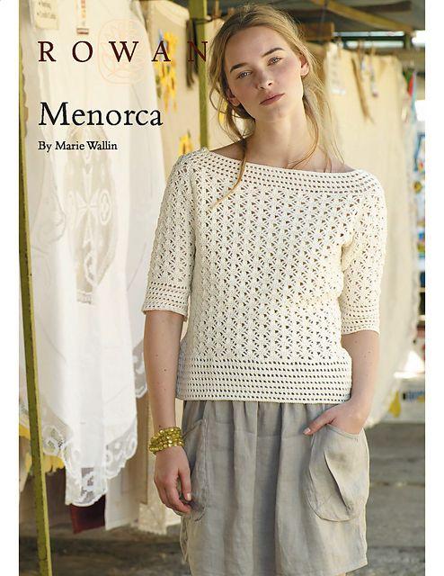 Ravelry: Menorca pattern by Marie Wallin - free pattern [fingering]