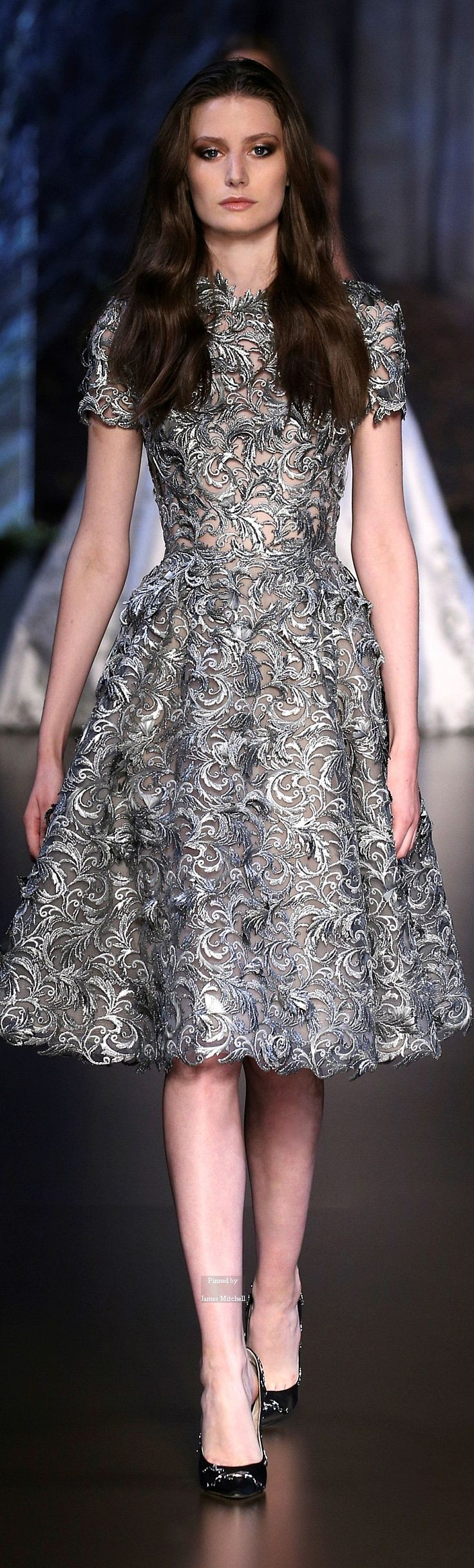 """Ralph & Russo. SubmitModest doesn't mean frumpy. For more Fashion Tips (and a free eBook): http://eepurl.com/4jcGX Do your clothing choices, manners, and poise portray the image you want to send? """"Dress how you wish to be dealt with!"""" (E. Jean) http://www.colleenhammond.com/"""