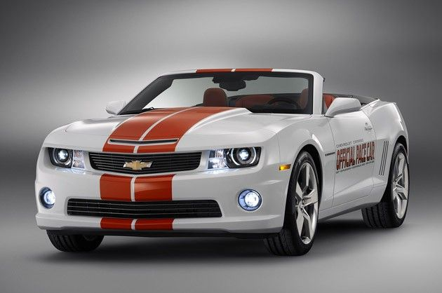 Chevrolet unveils 2011 Camaro Convertible Indy pace car at Barrett-Jackson
