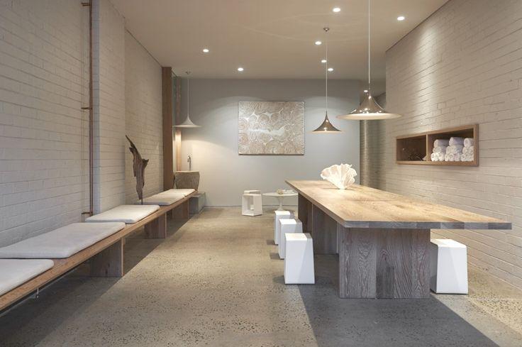 Дизайн йога-студии One Hot от Rob Mills Architects, Мельбурн.