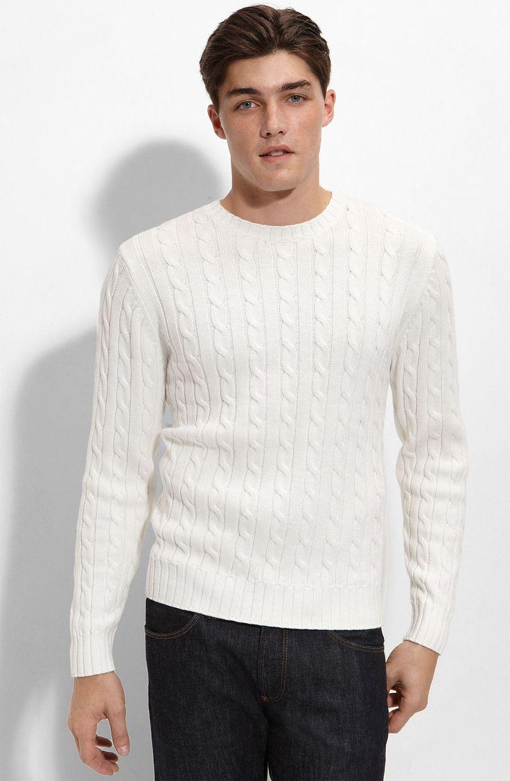 white-sweater-for-men