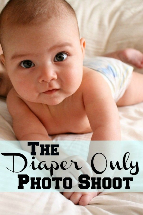 Tips for getting AWESOME pictures of your kids in their diapers.