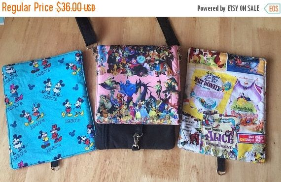 FALL SALE Disney Small crossbody bag/ iPhone purse/ small messenger bag with 3 changeable flaps/ Mickey and Minnie Mouse/ Disney characters by PopThree on Etsy https://www.etsy.com/listing/490383431/fall-sale-disney-small-crossbody-bag