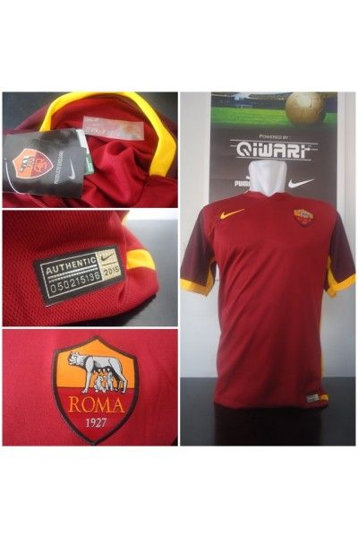 Jersey AS Roma Home Official 2015/2016