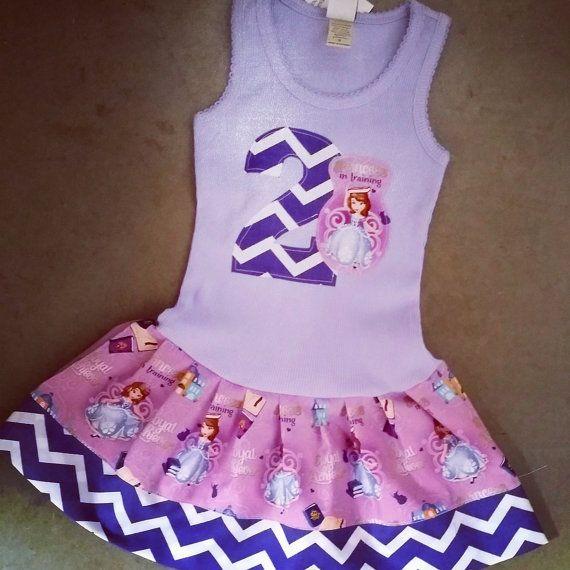 Sofia the First Dress. Princess Sofia by GraceMadisonDesigns