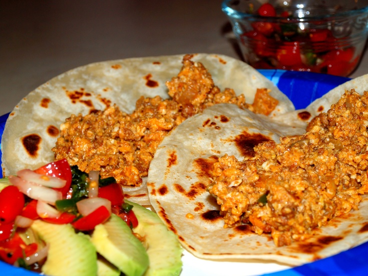 Mexican Chorrizo and Egg Breakfast TacosMexican Breakfast Tacos