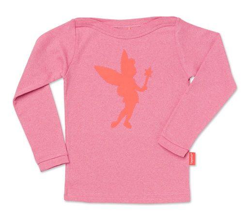 Tinkerbell longsleeve pink melange