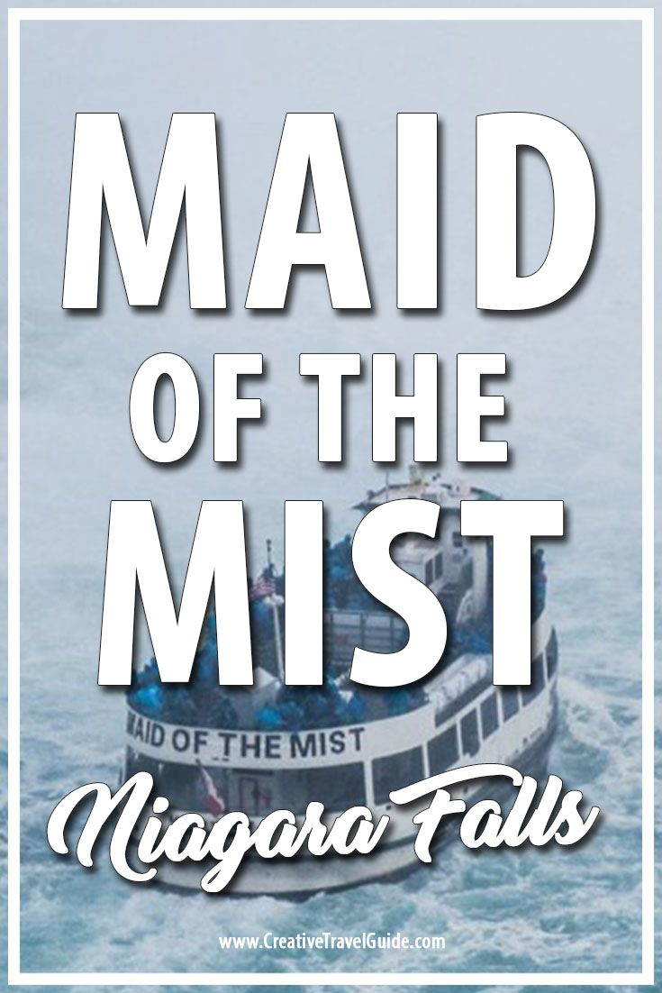 No trip to Niagara Falls is complete until you have jumped on board the legendary Maid of the Mist and experienced a thousand tiny drops everywhere!
