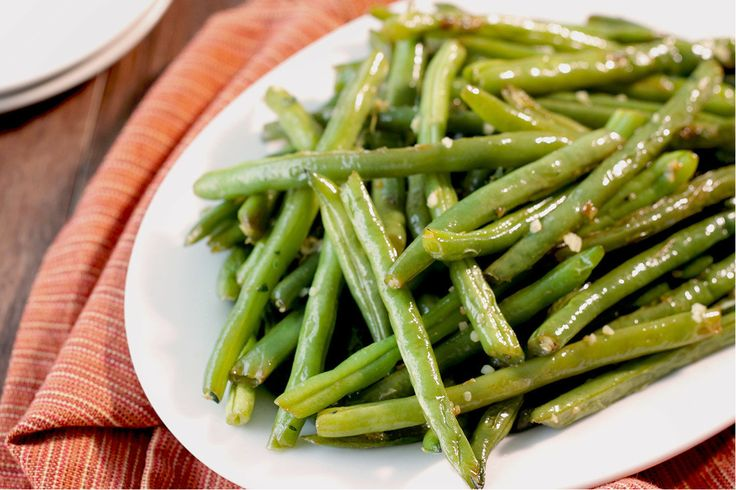 Hungry Girl's Healthy Garlic & Herb Green Beans Recipe-Serves 3- Each 1 cup serving=1 SP