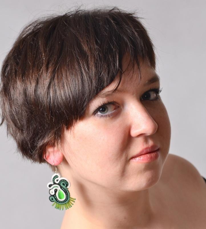 soutache earring martazare