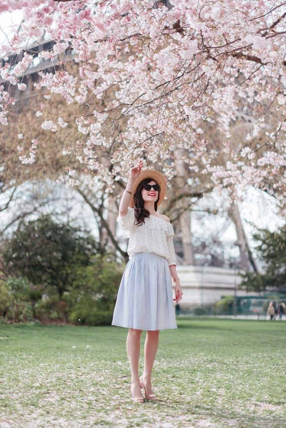Frühlingslook: 20 beste Kombinationen aus modischer Pastellbekleidung
