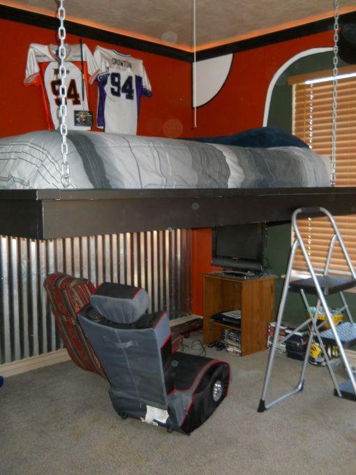 17 best images about hanging beds on pinterest loft beds for Suspended beds for kids