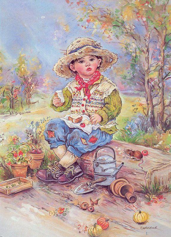 Детки / Christine Haworth. Обсуждение на LiveInternet - Российский Сервис Онлайн-Дневников