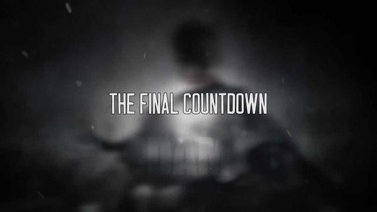 Van Canto - The Final Countdown (Lyric Video)
