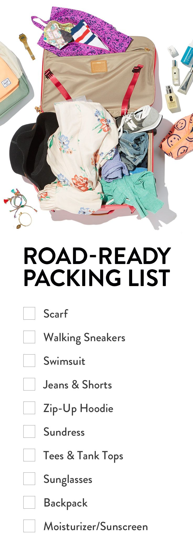 ROAD-READY PACKING LIST