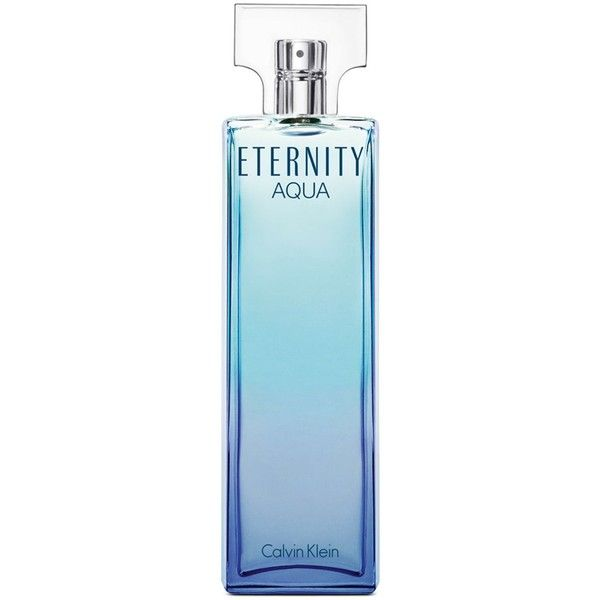 Calvin Klein ETERNITY Aqua Eau de Parfum, 1.7 oz (3.555 RUB) found on Polyvore featuring beauty products, fragrance, beauty, makeup, calvin klein, calvin klein fragrance, heart perfume, peony perfume and eau de perfume