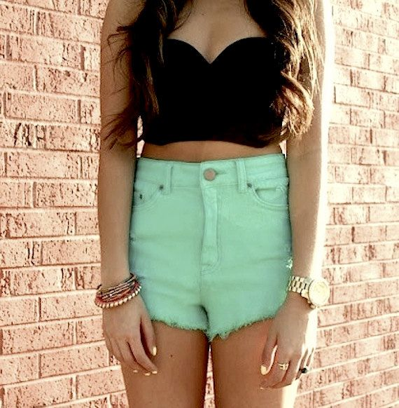66 best High Waisted Shorts images on Pinterest