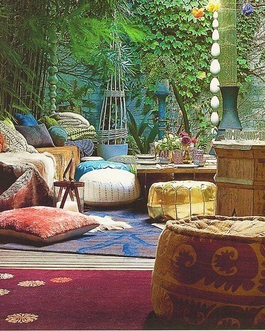 would love this for a sunroom or screened porch