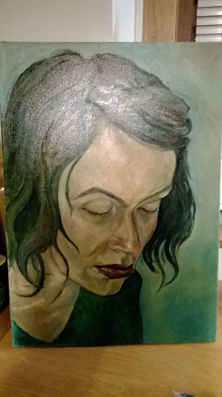 Rowan 2014 (Oil on canvas) Painting