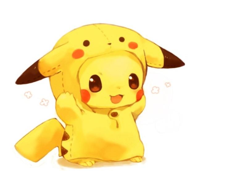 Pickachu in a pikachu suit! So cute!