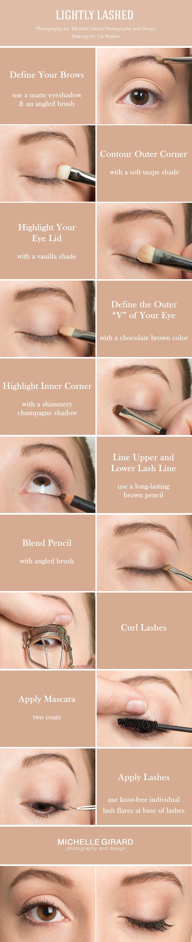 CLEAN AND NATURAL MAKEUP WITH LOVELY LASHES :: TUTORIALS WITH LIZ WASHER