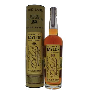 E.H. Taylor Jr. Single Barrel Bourbon 0,75L 50% - Verenigde Staten