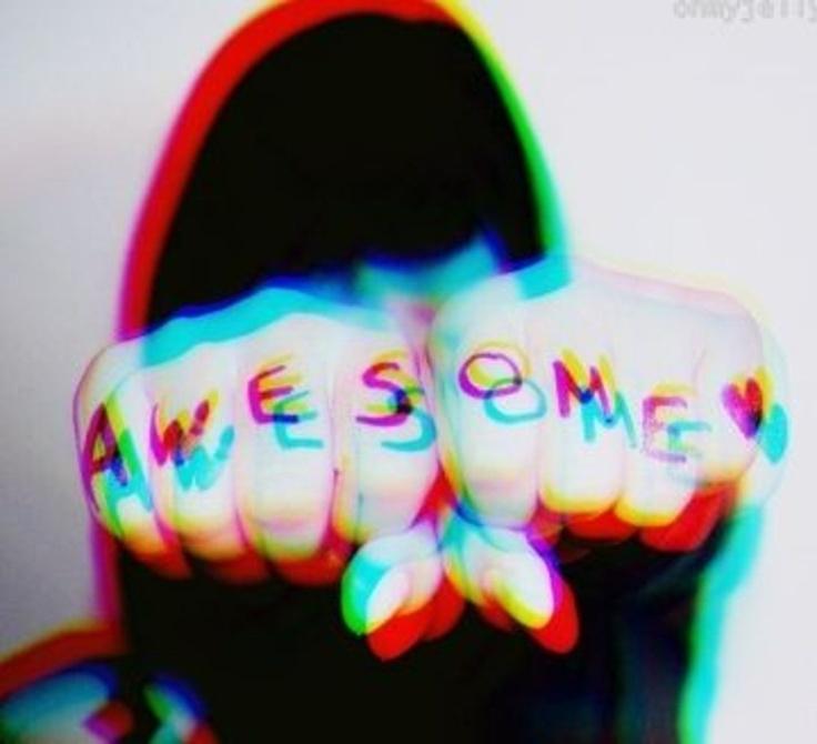 A-W-E-S-O-M-E
