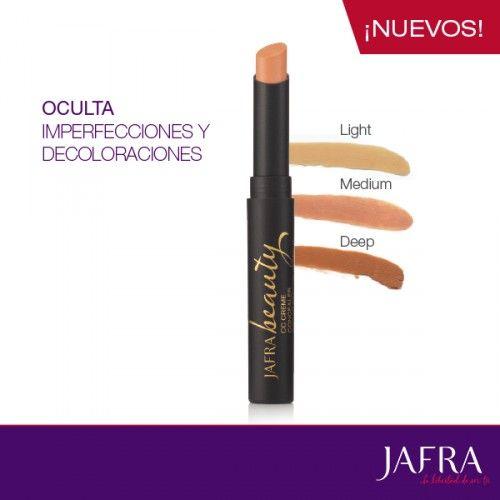 Nuevo Corrector Facial Perfeccionador Amplio Espectro FPS 20. http://jafra.me/3cqk
