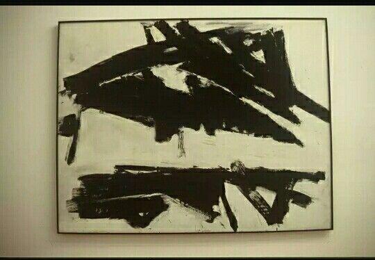 215. Frank Kline, Andes 1957 tela Basilea Kunstmuseum