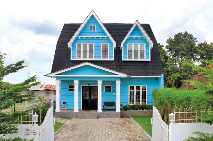 Rumah Paris Yogjakarta design by Vindodesign