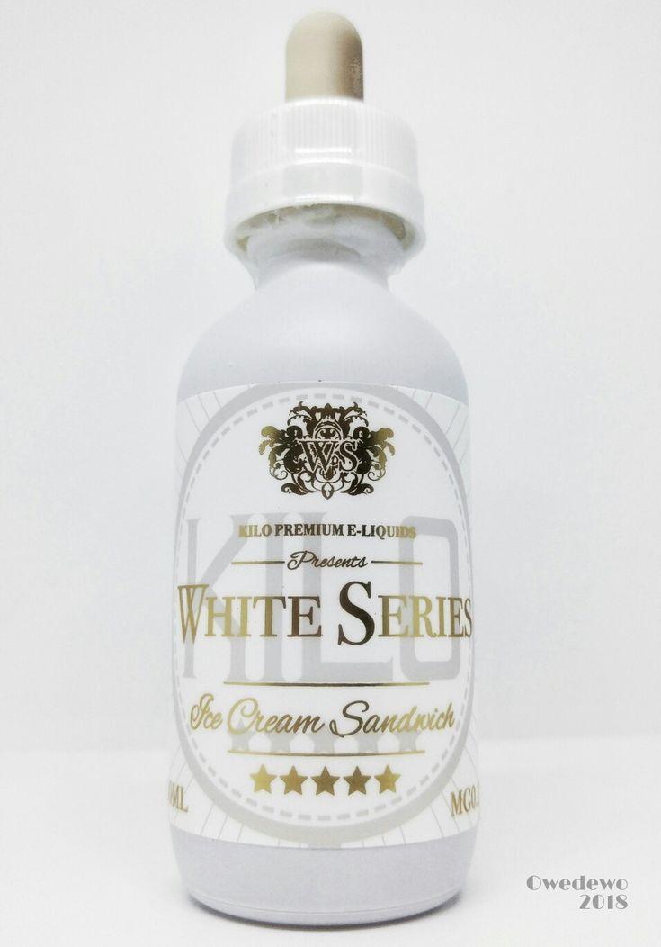 White Series Liquid #kilopremiumeliquid #whiteseries