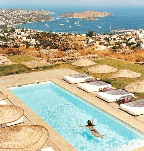 Ev Hotel, Türkbükü Bay, Turkey